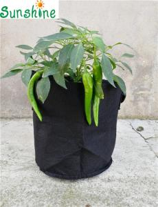 Wholesale bag fabric: 1-200 Gallon Fabric Non-woven Grow Bag, Grow Pots