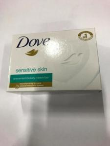 Wholesale beauty: Lot of 12 Dove Sensitive Skin Moisturizing Beauty Cream Bar