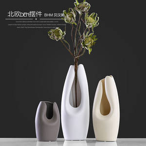 Wholesale Ceramic & Porcelain Vases: Table Decoration Personalized Antique Chinese Ceramic Vase for Home Hotel Office Decoration