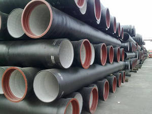 Wholesale Iron Pipes: K9 Galvanized Ductile Cast Iron Pipe for Gas Transport