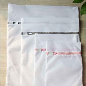 Wholesale custom plastic: Reusable Plastic Zipper Laundry Mesh Bag ,Custom Foldable Laundry Bag