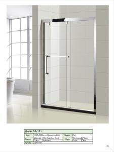 Wholesale shower door: Stainless Steel Full Frame Glass Shower Doors