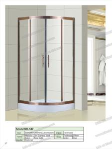 Wholesale shower room: Stainless Steel Glass Shower Room Panel