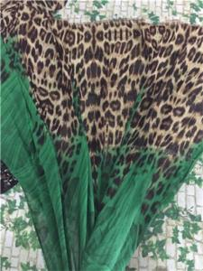 Wholesale Polyester Fabric: 100% Polyester Printed Chiffon Fabrics and Two Side