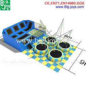 Wholesale combo fabrics: Factory Price Gym Equipment, Cheap Trampoline with Safety Net for Sale