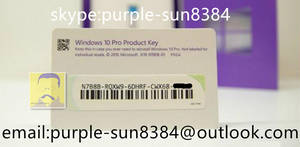 Wholesale usb: Windows 10 Profession Retail Key Card 32bit 64bit  USB Flash Win 10 Pro Retail COA