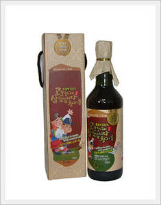 Wholesale strength flavor: Delicately-Flavored Sesame Oil - 710ml (Whole Grain)