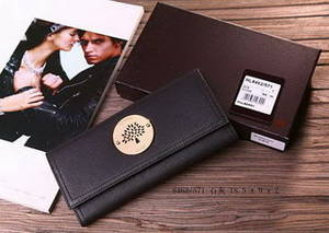 Wholesale leather credit card wallet: Black Wallet Long Wallet Leather Wallet