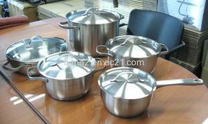 Wholesale stainless steel cookware: Stainless Steel Cookware Set