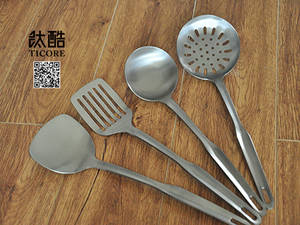 Wholesale cookware: Titanium Cookware with Four Pieces