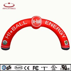 Wholesale cheap pvc bag: Advertising Outdoor Cheap Sale Race Inflatable Promotional Semicircle Arch