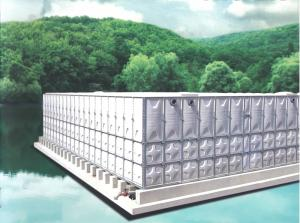 Wholesale Water Treatment: Grp Sectional Panel Water Tank