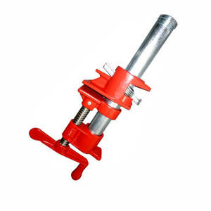 Wholesale iron pipes: Casting 3/4 Inch Ductile Iron Casting Screw Bar Pipe Clamps for Woodworking Hand Tools