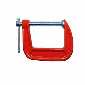 Wholesale g clamp: OEM Casting Ductile Cast Iron Casting Swivel Steel Screw Threaded Rod Wood Turning Tools G Clamp