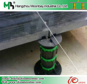 Wholesale waterproof membrane underlayment: Adjustable Plastic Pedestal