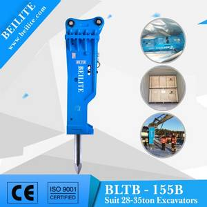 Wholesale excavator hydraulic hammer: BLTB155B Hydraulic Hammer,Rock Hydraulic Hammer, Hydraulic Hammer Suitable for 28-35 Excavator