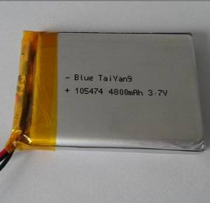 Wholesale interphone battery: 105474 4800mAh Lithium Polymer Battery for Made in China