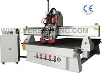 2 Spindles ATC CNC Router Machine for Furniture Production