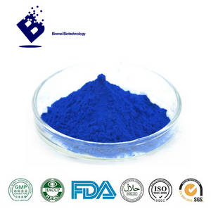Wholesale food additives: Food Additive Blue Plant Extract Powder Phycocyanin