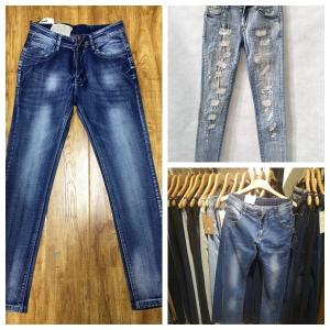 Wholesale wholesale brand garment: Factory Wholesale Lady Jean Style Women Denim Jeans