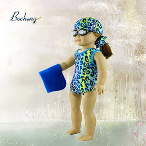 Wholesale Toy Accessories: Bocheng Doll Clothes Manufacturer 18 Inch Swimming Doll Clothes