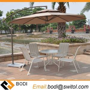 Wholesale patio umbrella: 2.7 Meter Steel Iron Duplex Sun Umbrella Patio Umbrella Garden Parasol Sunshade Outdoor Cover
