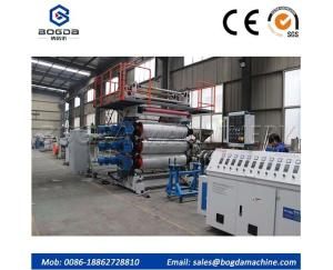 Wholesale central plastic granulator: PVC Plastic Artificial Marble Sheet Production Line