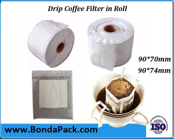 Sell Drip Coffee Bag Filter Film in Rolls