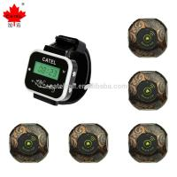 CTW05 Restaurant Wireless Calling System with Wrist Watch Pager/ Work with Call Buttons 4