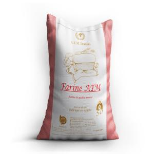 Wholesale biscuits: Wheat Flour Farine ATM 50 Kg - Biscuit Flour - Bread Flour - Best Flour in Middle East