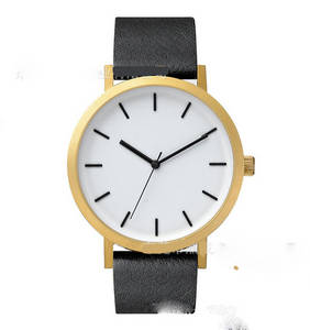 Wholesale free polo samples: Hot Selling Slim Stone Big Dial Watch for Polo Fashion Wholesale Leather Watch