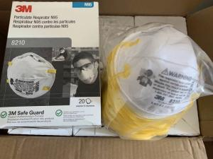 Wholesale baby wear: 3M Particulate Respirator 8210, N95 Mask