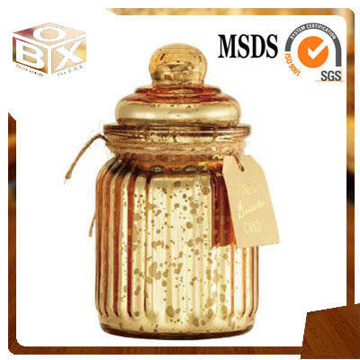 Sell Glass jar with lid scented funny candles