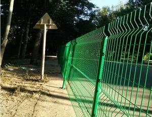 Wholesale welded wire panel fence: Double Welded Wire 868 /656 Fence Panel Twin Bar Wire Mesh Fence ISO9001