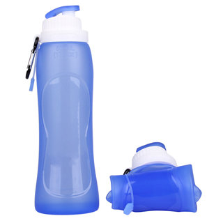 FDA Approved BPA Free Custom Collapsible Water Bottle