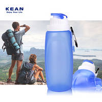 Customized Kids Collapsible Foldable Water Bottle