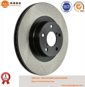 Wholesale brake discs: Automotive Spare Parts Replaced Brake Disc Black Painted