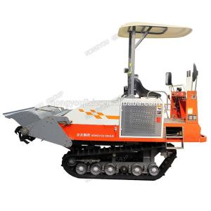 Wholesale rotary tiller: High Quality Farm Rubber Crawler Farm Cultivator Rotary Tiller in India