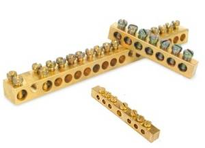 Wholesale Other Electronic Components: Manufacturer of Brass Neutral Links