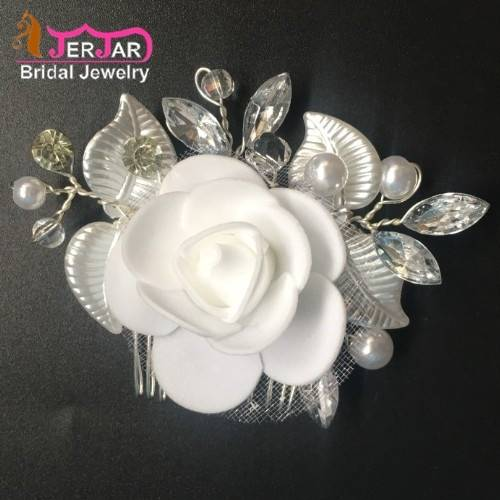 Sell Bridal Hair Combs Women Wedding Hair Jewelry Fashion Silver Headpiece