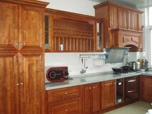 Wholesale environmental wood door: Kitchen Cabinet