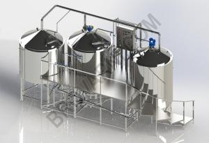 Wholesale brewery plant: Micro-brewery for Production 670-930 Liters of Beer Per Day