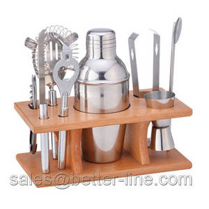 Wholesale bar shaker: 8pcs Cocktail Set