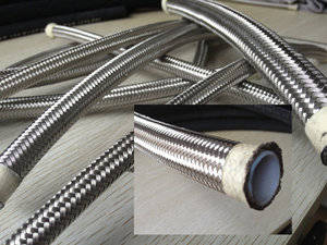 Wholesale stainless steel braided hoses: Stainless Steel Braided Teflon Hose