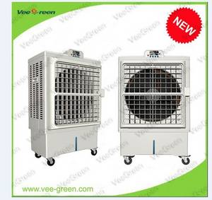 Wholesale evaporative air cooler: Mobile Water Cooled Air Conditoner Portable Evaporative Air Cooler