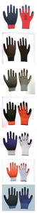 Wholesale labor gloves: 13 Gauge Polyester Latex Glove