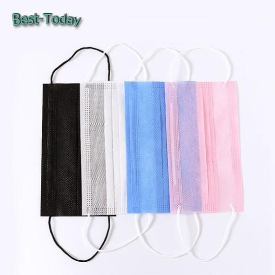 Disposable Nonwoven Breathable Face Mask for Food Service/Painting