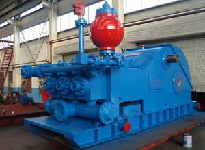Wholesale triplex piston pump: F-1300(1300HP) Triplex Single-Acting Reciprocating Piston Mud Pump