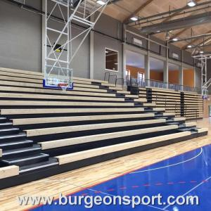Wholesale Other Sports Products: Customized Modular Grandstands Timber Bench