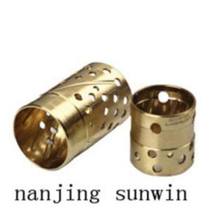 Wholesale sliding bearing bushes: Sliding Bearing Friction Sleeve Composite Dry DU Bushing Split Small Bush